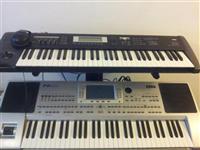 Korg pa80 dhe korg TR 61 komplet me ritme dhe zana