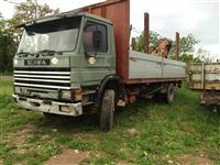 Scania me kran + grajfer