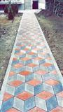Bajm rregullimn e oborrev me kubza betoni
