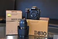 NIKON D810+lens nikkor  24-70mm  f/2.8g   NEW