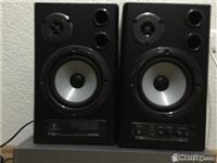 Monitor per studio beringer  24 bit 192 megaherc..