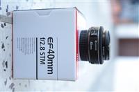 Canon lens 40mm f2.8 stm