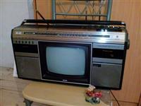 Radio klasike me telivision,me nje kaset+fm stereo