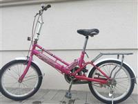 Bicikleta e ardhur nga gjermania poni