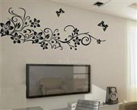 piktura-vizatim ne mur-dekorime dizajn