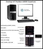 Desktop HP Pavillion m9000 Quand Core