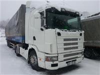 Scania 144L 460 Me Rimorkio