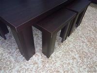Shiten tavolina e madhe me dy tavolina te vogla 30