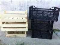 Gajbe te plastikes dhe te drurit