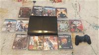 PS3 Super Slim dhe 3 lojra
