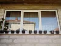 Dritare  plastike per sallon