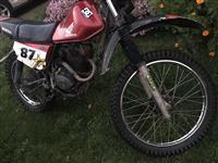 motocroos honda 125cc