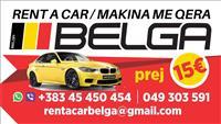 BELGA Rent A Car Prishtina prej 15€/dite!