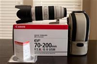 Canon EF 70-200mm f / 2,8L IS II USM Telefoto Zoom