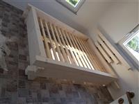 Kuzhina dhe dhoma gjumi druri dhe mediapan