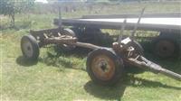 shitet kerrt per traktor