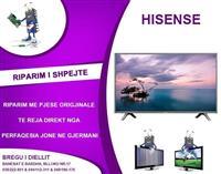 RIPARIM I TV HISENSE LCD & LED dhe Pllazma