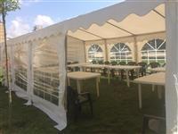 Tenda, tavolina dhe karrige me qira  044 147 364