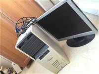 Kompjuter bashke me monitor