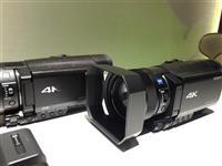 Kamer sony AX 100E 4K