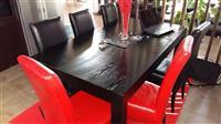 Trapezeri (tavoli kuzhine me 8 karrige)