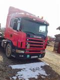 Scania 124L 400. Rimorkio 3aks