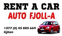 Rent a Car Auto-Fjolla 045-885-669(viber)