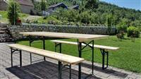 Tavolina dhe karrika per ahengje familjare