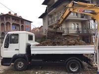 Punojme me Bager dhe kamiona