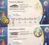 2 bilete te Kategorise 1 per France EURO2016