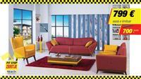Garniture shtofi: MALIBU DG1002&DG1000