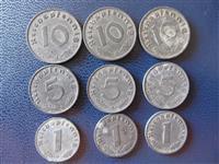 9 Monedha naziste nga lufta e dyte