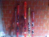 4 par skija te po sa ardhura nga zvicrra