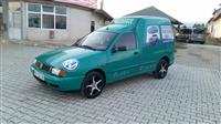 VW Caddy benzin+plin