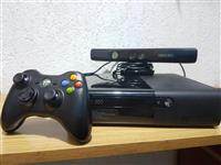 Xbox 360 slim e Chip RGH 250Gb HDD + Kinect
