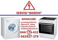 Servis i të gjitha aparateve elektrike shtëpiak