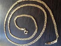 Zinxhir i Arit 585-14Kt-3.2gr