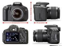 Canon 600 D E ruajtur 18 mgpx