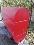 Cisternë 3000 litra për naftë