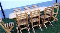 Tavolina me karrige