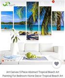 Pikture e plazhit (canvas)