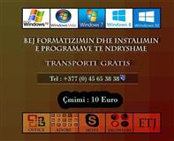 Bëj Formatizimin dhe Programimin e Kopjuterëve 10€