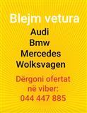 Blejme vetura Audi Mercedes Bmw wolksvagen