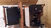 shes kompjuterin komplet me gjith monitor