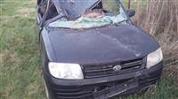 Shitet vetura e aksidentume