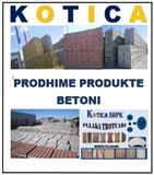 PRODUKTE PRODHIME BETONI