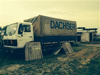 Kamion mercedes 16/25 me rimorkio