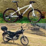 shiten: motorri yamaha,bicikleta sprint