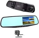 Pasqyrë me kamera për të rregjistruar trafikun