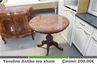 Tavoline Antike me xham